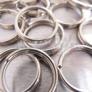Stainless Steel Split Round Ring/Key Rings