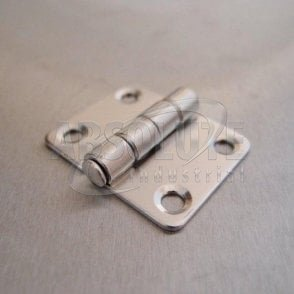 Stainless Steel Square Hinges 37mm - 304 grade