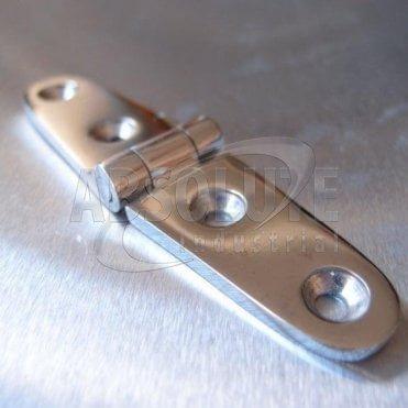 Stainless Steel Strap Hinge - 316 Marine grade