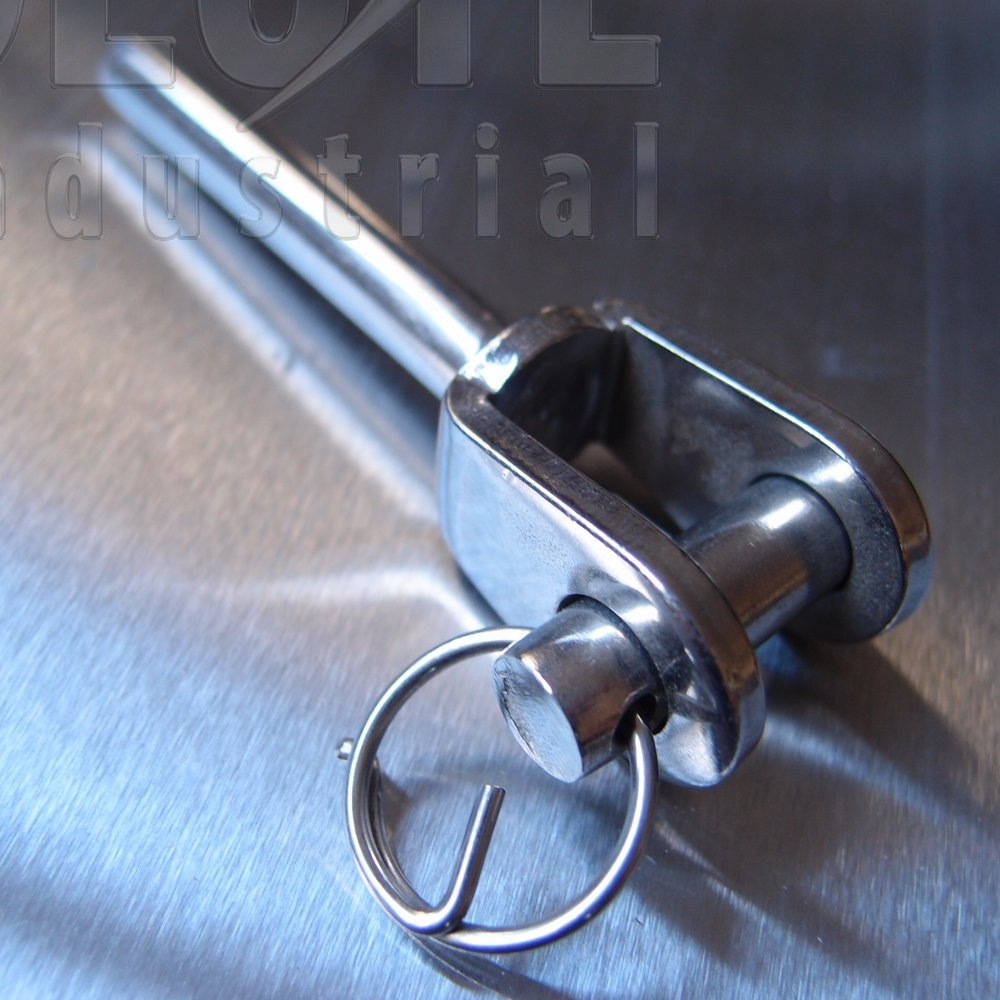 Stainless steel swaged fork terminals from absolute