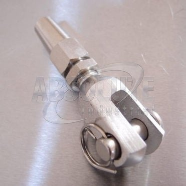 Stainless Steel Swageless Fork - Jaw - Terminals