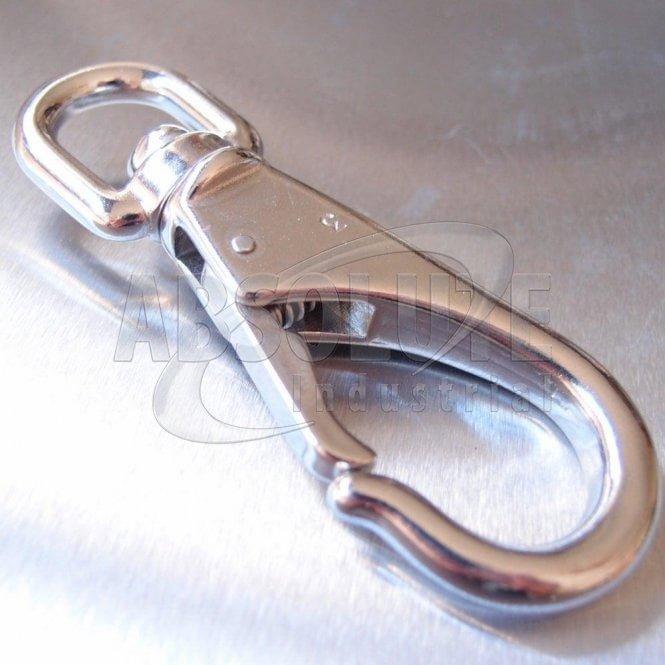 Stainless Steel Swivel Eye Boat Snap Hook