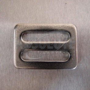 Stainless Steel Three Bar Slide for 25mm, 35mm or 50mm webbing