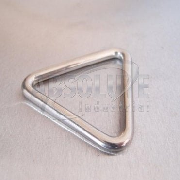 Stainless Steel Triangular Rings/Links - AISI 316