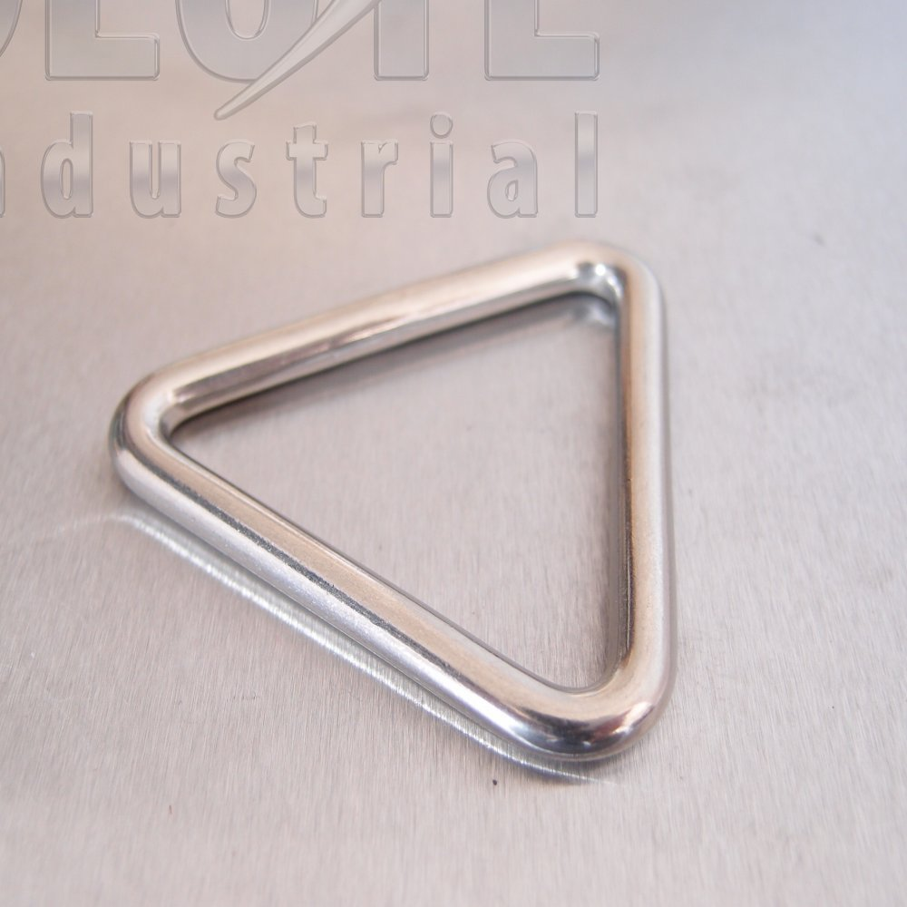 Stainless Steel Triangular Rings Links From Absolute