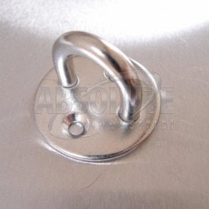 Stainless Steel Two Hole Round Eye Plates 304 AISI