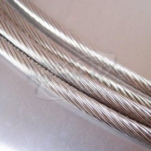 Stainless Steel Wire Rope - Stainless Steel 316 - 1 x 19 Strand 100m reel