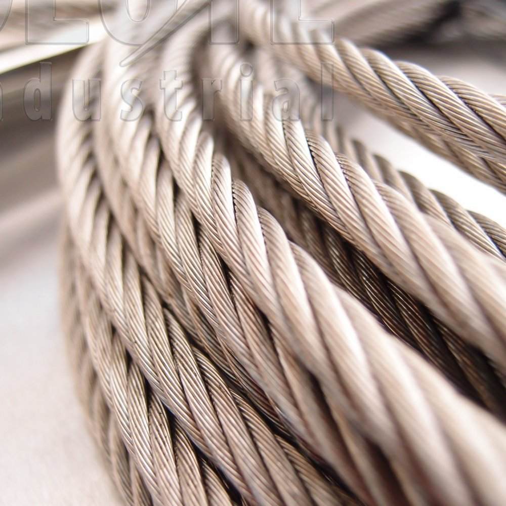 Stainless Steel Wire Rope Stainless Steel 316 7 X 19