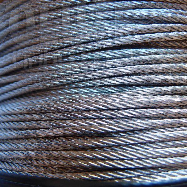 Stainless Steel Wire Rope - Stainless Steel 316 - 7 x 7 WSC 100m ...