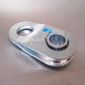 Swing Away Pulley Block (Snatch) - Zinc Plated
