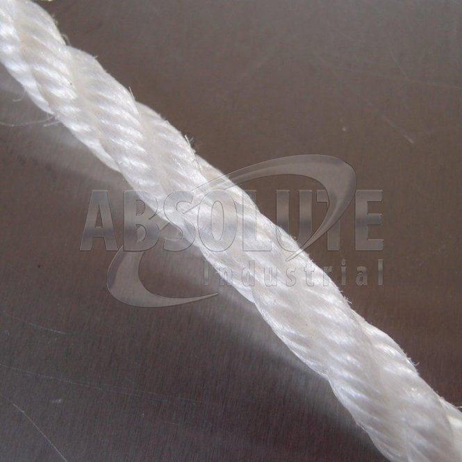 White Staple Fibre Rope