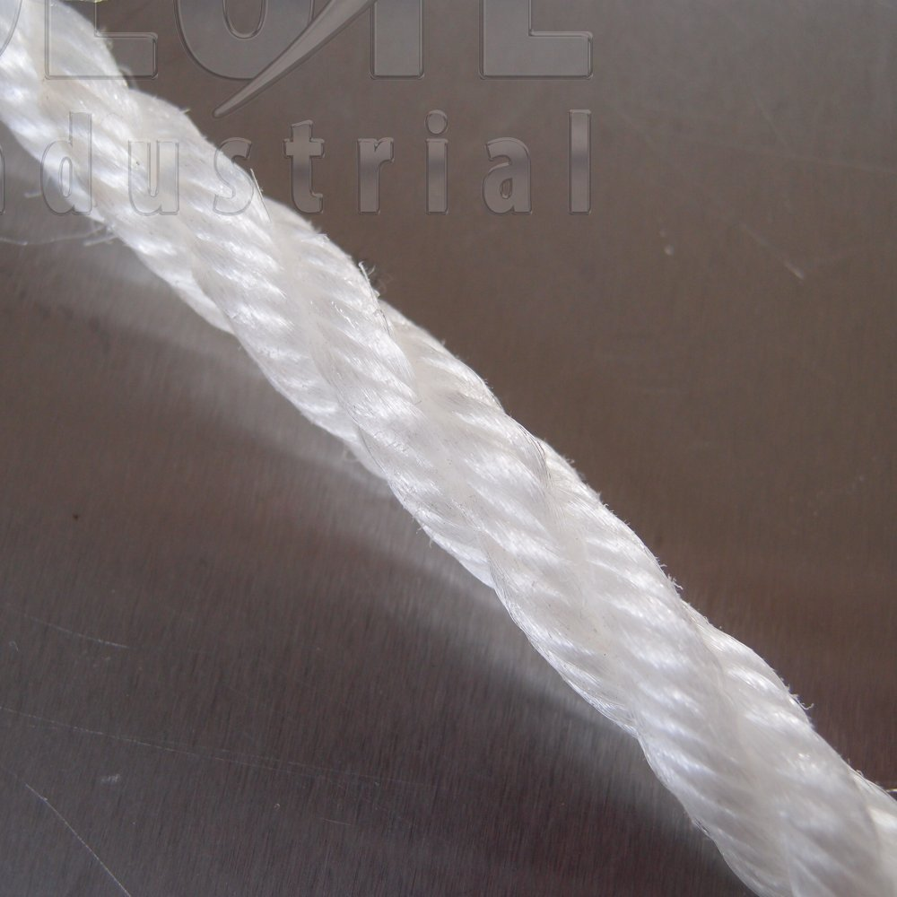 White Staple Fibre Rope - from Absolute Industrial Ltd UK