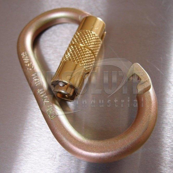 Working at Height Steel Karabiner - Twist Lock 18mm Opening 20kn