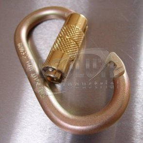 Working at Height Steel Karabiner - Twist Lock 18mm Opening 20kn